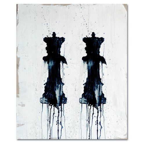 Find it at the Foundary - Two Queens 24 x 30 in. Wall Art