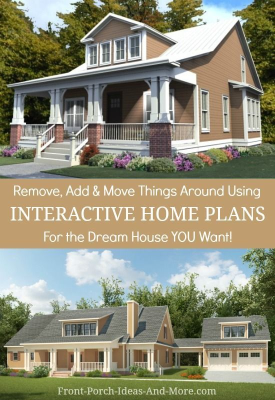 Front Porch Ideas And More Porch House Plans House Plans Dream House Ideas Bedrooms