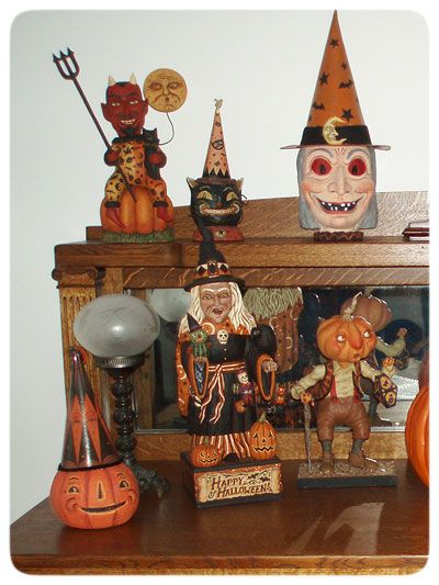 Pieces by Johanna Parker, Greg Guedel, and Scott Smith Collections - elegant halloween decorations