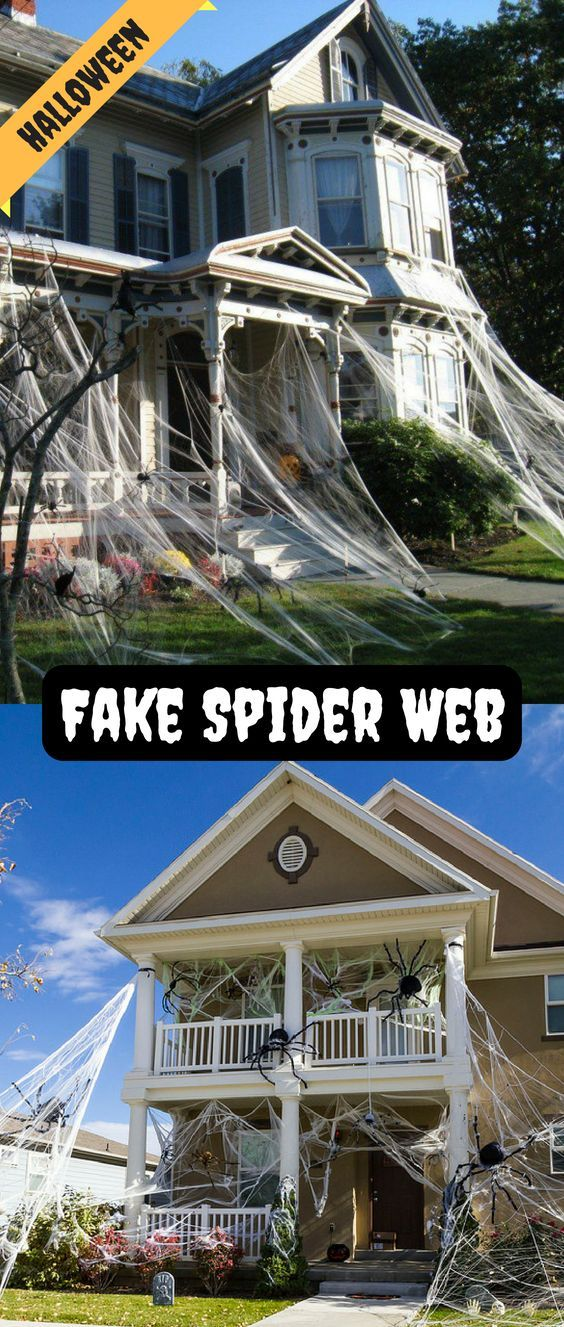 Halloween Decorations Scary Spider Webs Props Spiders Scary Halloween House Party Decorations Scary Halloween Decorations