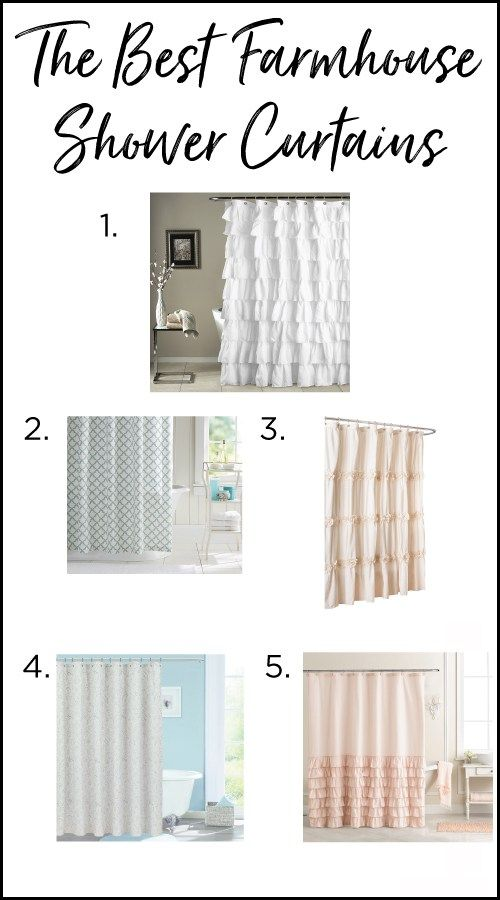 The Best Farmhouse Shower Curtains On A Budget Farmhouse Shower