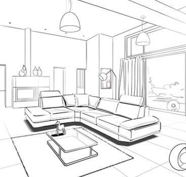 Rough Story Esboco Interior Desenho De Arquitetura Esbocos