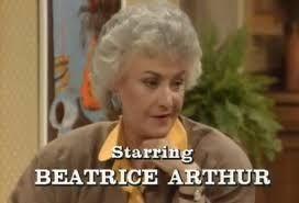 Beatrice Arthur credit