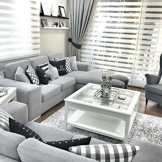 Best 25 Grey Living Room Curtains Ideas On Pinterest Black Grey Living Room Decor Grey And Blu Small Living Room Decor Living Room Grey Living Room Inspiration