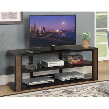 Convenience Concepts Designs2Go Rainer 60 inch TV Stand, Black
