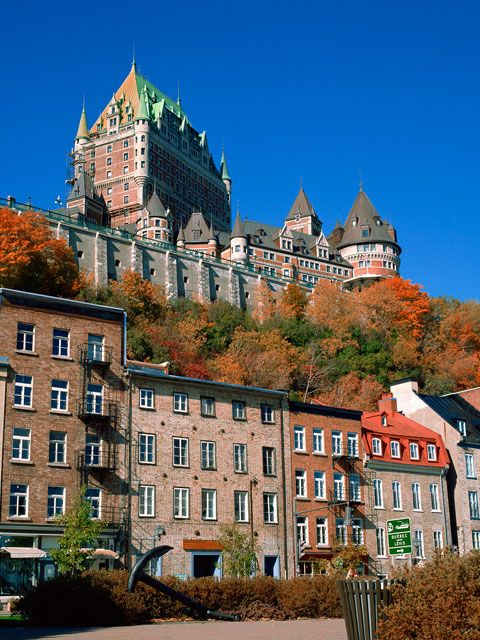 Quebec City: taste and sights of old Europe. Almost made it this coming Fall, but its not meant to be...