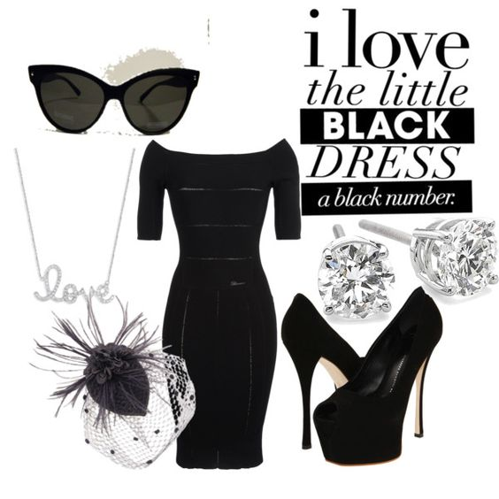 LBD, created by afeeca on Polyvore