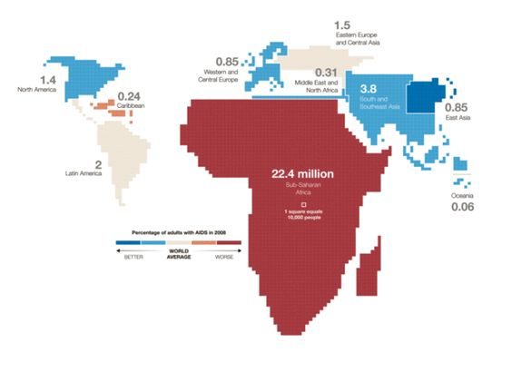 aids map