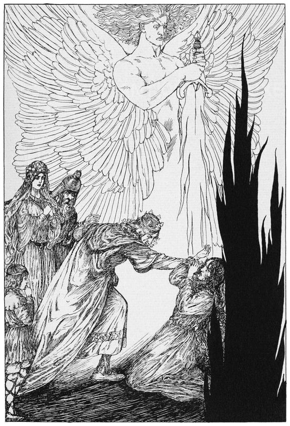 WILLY POGANY. LOHENGRIN ART NOUVEAU, GOTHIC 1ST ED 1913. RICHARD WAGNER. EX RARE