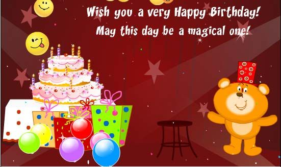 Happy Birthday Todd Magic Cake