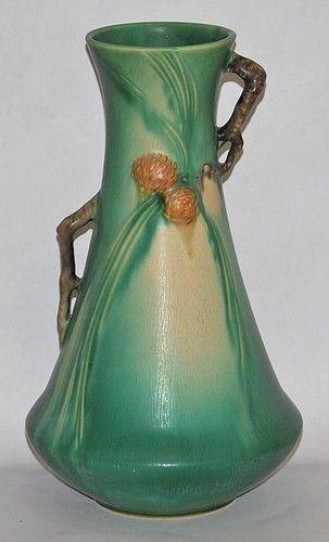 Roseville Pine Cone Vase 1935: