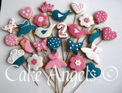Cookies for Cookie Bouquet