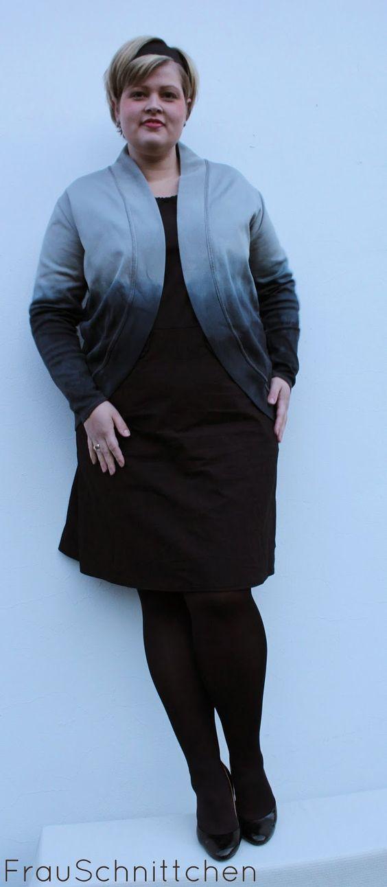FrauSchnittchen: ***RUMS #10/14***- Frau Alma malt schwarz...