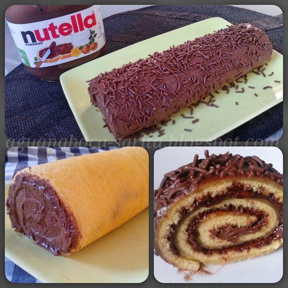 Ola ola :)  Espero que estejam preparadas/os para esta tentação hehe, uma verdadeira tentação sobretudo para os apaixonados por Nutella!  ...