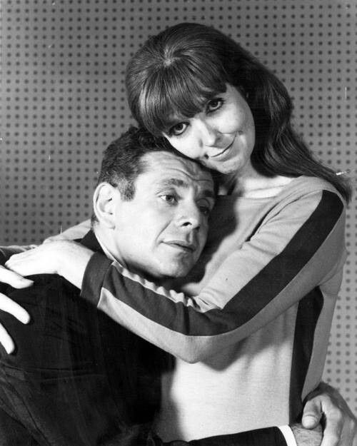Jerry Stiller And Wife Anne Meara