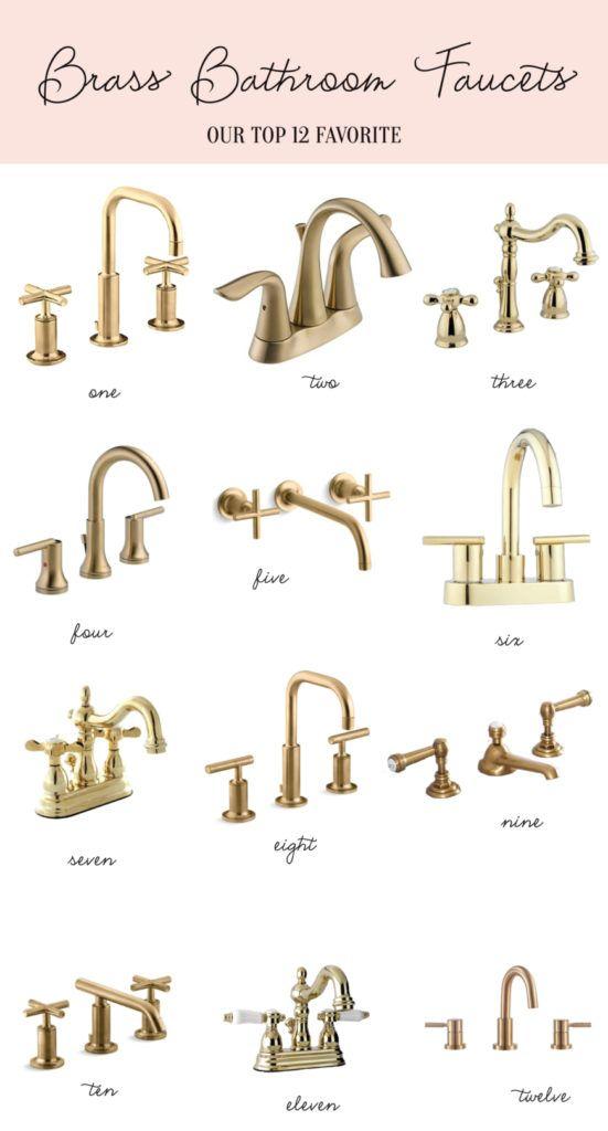 Home Brass Bathroom Faucets Brass Bathroom Faucets Brass