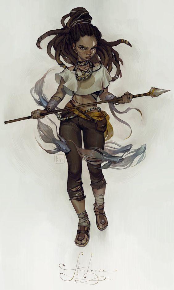 huntress by loish.deviantart.com on @DeviantArt
