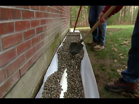 17 Best Images About Diy French Drain Drainage Solutions