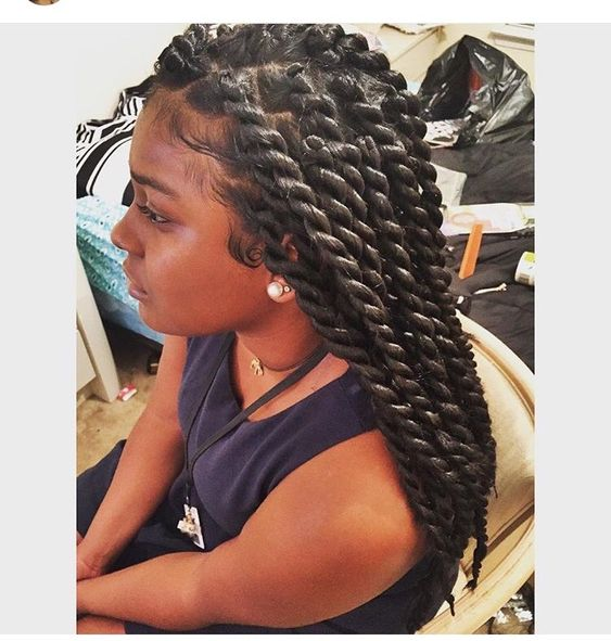 ***Try Hair Trigger Growth Elixir*** ========================= {Grow Lust Worthy Hair FASTER Naturally with Hair Trigger} ========================= Go To: www.HairTriggerr.com =========================        These Thick Senegalese Twists are Cute!!!