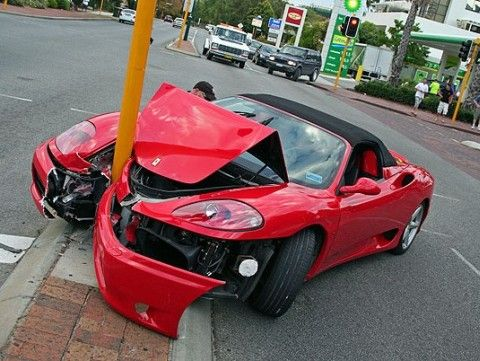The Top Exotic Supercar Wrecks Of All Time F King