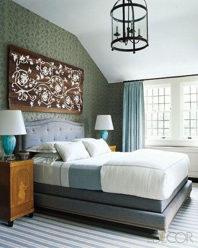 Wood Art: Guest Room, Guest Bedroom, Dream House, Gambrel Bedrooms,  Day Bed, Blue Bedrooms, Brown Bedrooms, Beautiful Bedrooms