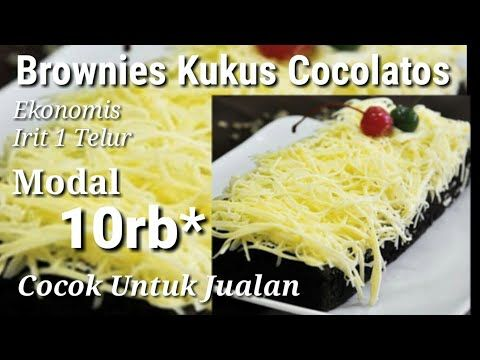 Resep Brownis Kukus Ekonomis Irit 1 Telur Cocok Untuk Jualan Youtube Brownies Recipe Homemade Homemade Recipes Brownies Easy