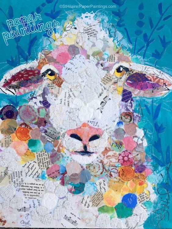 """Spring Sheep """"I Love Ewe"""" Elizabeth St. Hilaire"""