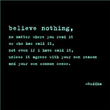 Budha Buda Advice Quote
