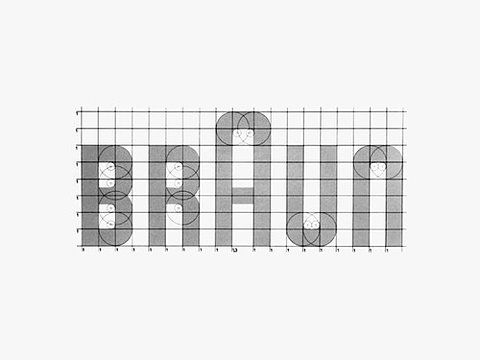 Braun logo by Dieter Rams