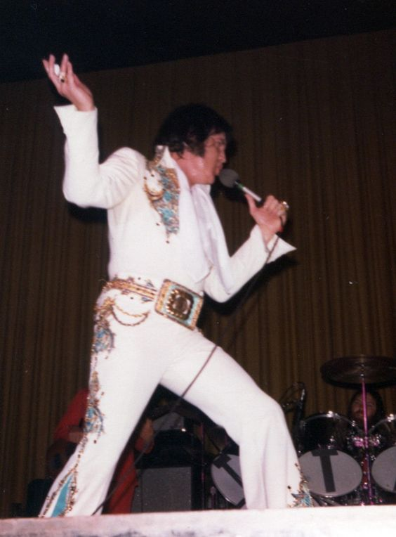 On stage in Austin in march 28 1977.