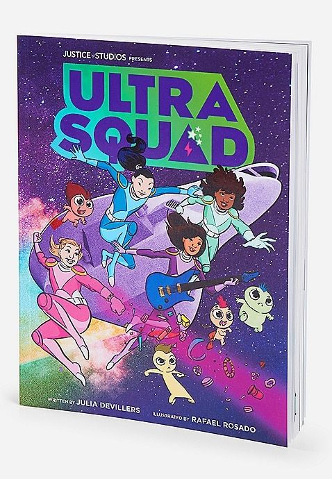 Ultra Squad Girls Rock Squish Journal Justice Toys For Girls Tween Unicorn Fashion