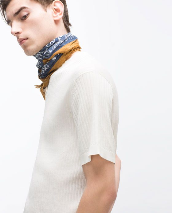PRINTED BANDANA from Zara: