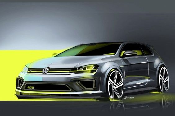 VW Golf R 400 Races In To Beijing Show - Can It Get More Awesome?