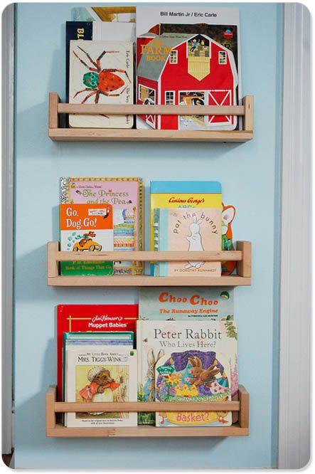 spice rack book rack