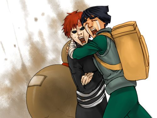 Cricket, Posts and Naruto on Pinterest Gaara And Rock Lee