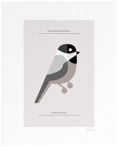 Lumadessa | Black-Capped Chickadee
