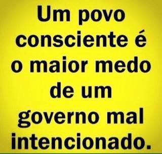 Post  #FALASÉRIO!  : É O QUE ESTÁ FALTANDO AO POVO !