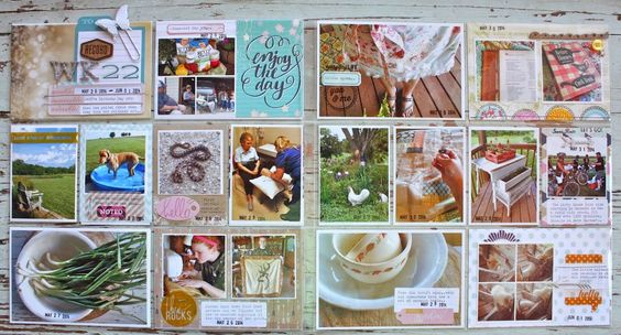 Mish Mash: Project Life 2014....Week 22 with 3 inserts