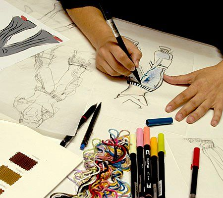 Learn fashion designing from home - House design plans