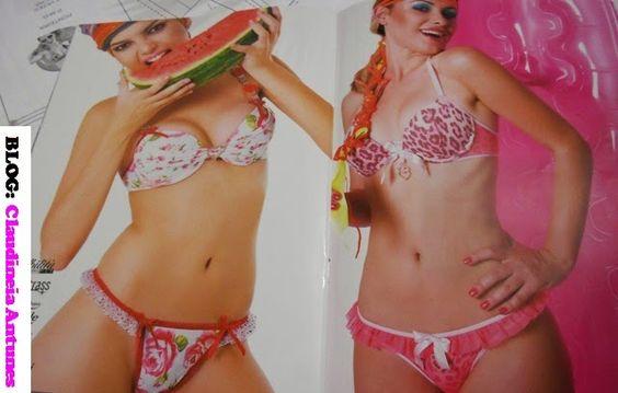 lingeries para moldes...