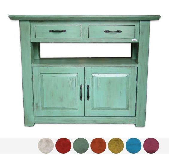 Mesa de arrime con puertas objetos muebles pinterest for Mesas con puertas