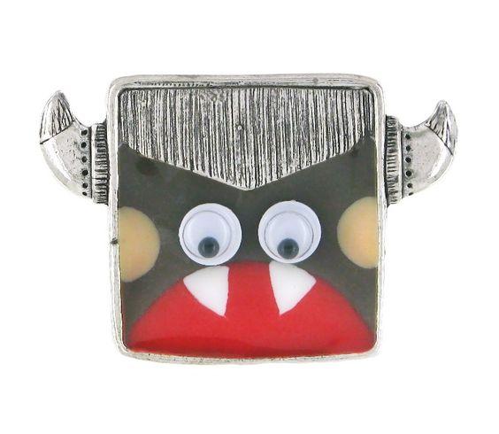Bague TARATATA. Bijoux créateurs. En vente en boutique et sur notre site internet : http://www.bijouterie-influences.com/search.php?search_query=taratata+totem
