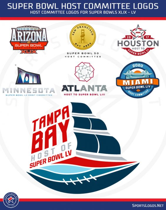 Studio Stories: Tampa Bay Super Bowl Host Committee Logo Sails into Prominence | Chris Creamer's SportsLogos.Net News and Blog : New Logos and New Uniforms news, photos, and rumours