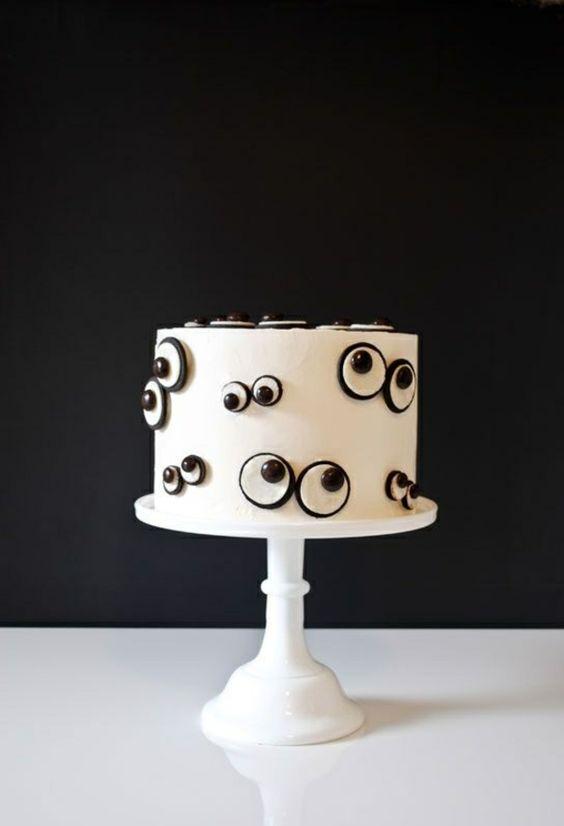 Halloween Kuchen Deko – wahnsinnige Torten Ideen -