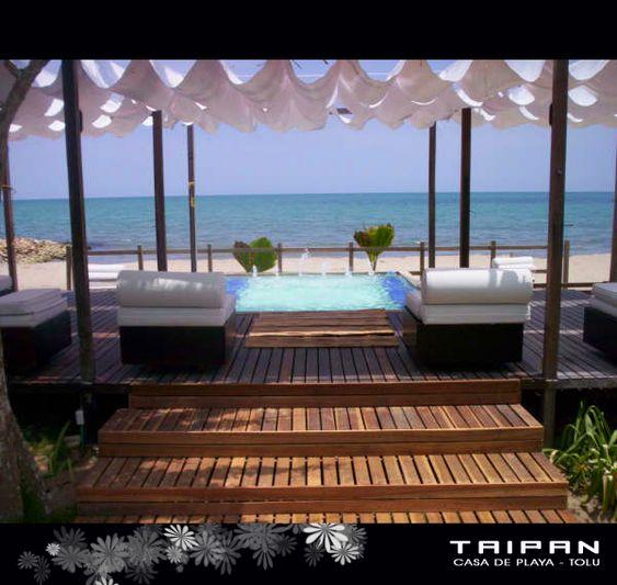 Casa de Playa Taipan  Tolu Colombia  SUCRE  Pinterest  Tolu