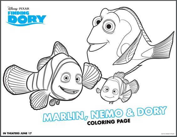 Animado Mundo Infantil Imagens De Procurando Nemo E De Dory Para