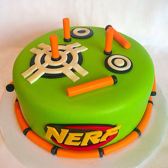 Parties, Nerf Cake And