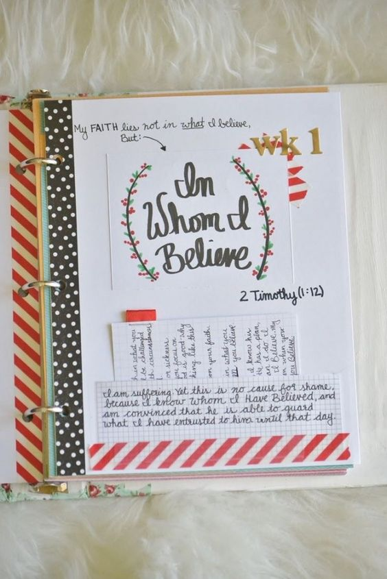 Faith & prayer journal