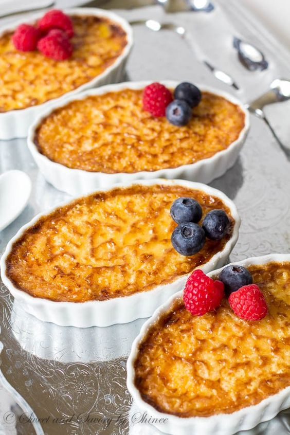 This creamy dreamy classic creme brûlée is incredibly easy to make, yet exquisite dessert to serve at a party. Bonus, you can make it ahead.