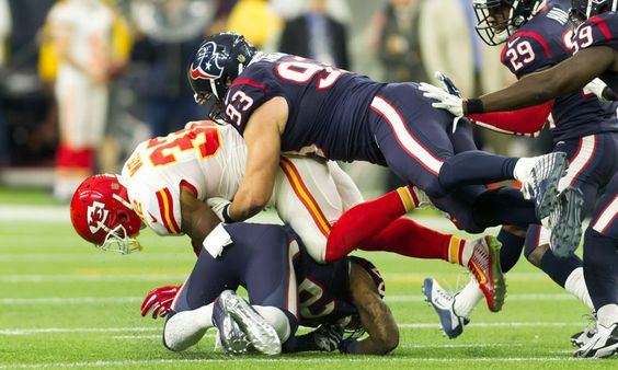 Texans have to contain Spencer Ware in order to win = The Houston Texans looked impressive in their Week 1 victory over the Chicago Bears.  Despite a rough start that saw Brock Osweiler's first pass get picked off, the Texans put together a great performance on both sides.....
